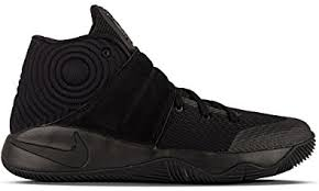 nike basketball shoes for girls black and white. nike kids kyrie 2 gs, black/reflect silver-volt, youth size 5 basketball shoes for girls black and white o