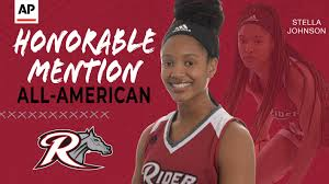 Rider's Stella Johnson Earns AP All-America Honorable Mention - Metro  Atlantic Athletic Conference