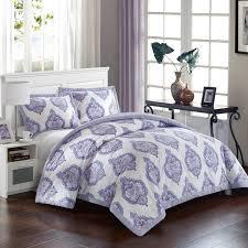 breathtaking lavender comforter sets lux bed cotton 3 piece bergen palace set