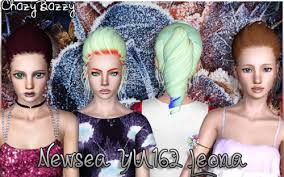 ChazyBazzy's Retextures — Newsea YU162 Leona All Ages Female Custom  Thumbs...