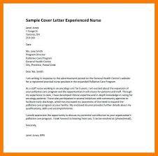 7 8 Experienced Nursing Cover Letter Tablethreeten Com
