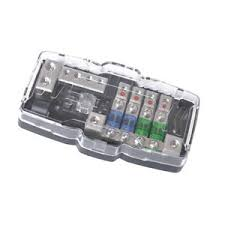 car audio anl fuse holder power distribution block fusebox 2 input 4 image is loading car audio anl fuse holder power distribution block