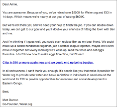 example of email 3 powerful email marketing examples from the pros socialbrite