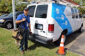 a spectrum worker in kansas the cable tv service is owned by charter munications in