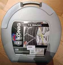 Konig T2 Magic Snow Chains Size Chart Sold Konig T2 Magic Chains Size 095 New 150ono