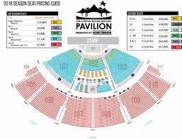 Cynthia Woods Pavilion Seating Chart 52 Systematic Comcast Hartford Seating Chart