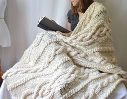 Cable Knit Blanket Pattern Best Ideas
