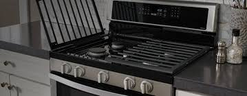 Gas Kitchen Appliances Ranges Stoves Gas Electric The Home Depot