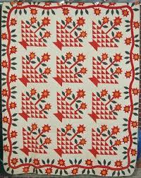91 best Basket quilts images on Pinterest   Baskets, Basket and ... & 1870's Star Flower Basket Applique Adamdwight.com