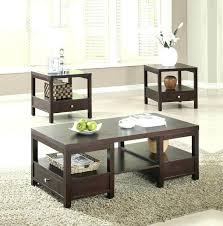 three piece coffee table set coffee table and end contemporary tables espresso 3 sets for three piece coffee table set