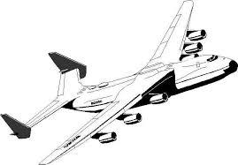 Bernard Vargas Kleurplaat Vliegtuig
