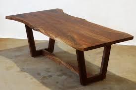 live edge dine table walnut slab wood