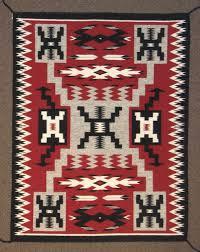 Navajo Pattern Gorgeous Navajo Rug Storm Pattern C48