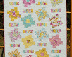 PDF Copy- Easy Honey Bun or Jelly Roll Pattern - Chair Rail Log ... & Baby Quilt Pattern - Layer Cake and Honey Bun Friendly - Honey Cakes Baby  Quilt Pattern - Hard Copy Version - FREE SHIPPING!! Adamdwight.com