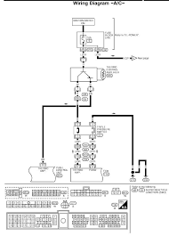 2000 nissan altima 2 4l intermittant a c operation manifold 2000 Nissan Maxima Wiring Diagram making sure the ac system works also make sure both cooling fans come on when the ac switch is on and ac is running also make sure the ac switch lights 2000 nissan maxima wiring diagram for blower