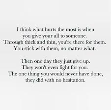 Hurtful Quotes Custom One Of The Most Hurtful Things In The World Life Quotes