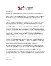 new superintendent s opening letter the new wilkinsburg school new superintendent s opening letter
