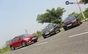 Chart Topping Hyundai Verna Takes On Fierce Rivals Honda City And Maruti Suzuki Ciaz Carandbike