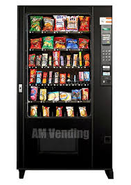 Soda Vending Machine For Home Stunning Used AMS 48 SnackFood Combo AM Vending Machine Sales