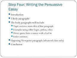 Steps To Writing An Argumentative Essay Steps To Write A Persuasive Essay Steps To Writing A Persuasive