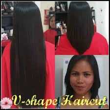 V Hairstyle 2016 vshape haircut lorenas youtube 6373 by wearticles.com