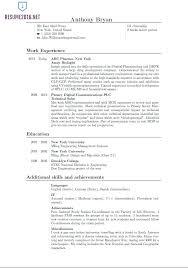 Great Resume Format Magnificent BistRun Best Resume Formats Format Template For Great Free