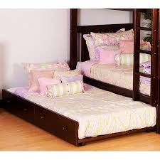 trundle bed Trundle Bed Made from Assorted Types of Woods