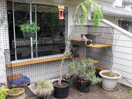 Patio cat enclosure Beautiful World Living Environments www.abeautifulwor.