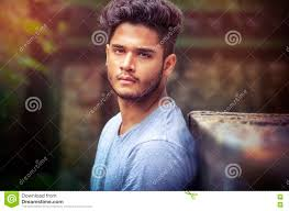 Outdoor Natural Light Photography Fashion Male Model Portrait Outdoor Stock Photo Image Of
