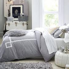 grey twin duvet cover gray chevron duvet cover