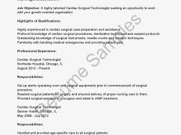 Fantastic Emergency Room Tech Resume Samples Images Entry Level