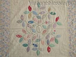 96 best Feedsack Friendly Quilts images on Pinterest | Autumn leaf ... & A Feedsack Fantasy! Vintage 30s Applique Autumn Leaves QUILT Never Used Adamdwight.com