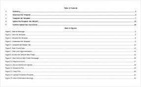 Table Of Contents 22 Free Word Pdf Documents Download Free