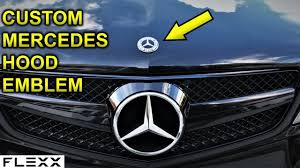 If you want a more minimal look then get this emblem. Installed A Custom Hood Emblem On My Mercedes C250 C300 W204 Youtube