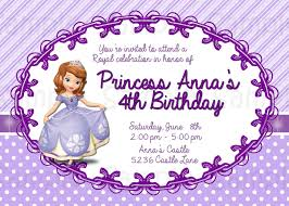 sofia the first birthday invitation templates invitations ideas sofia the first birthday invitations hollowwoodmusic com