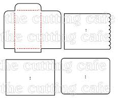 little envelope template the cutting cafe envelope cutting file template