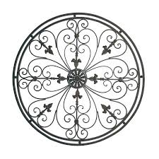 iron wall art outdoor metal large wrought decor hobby lobby scroll black canada