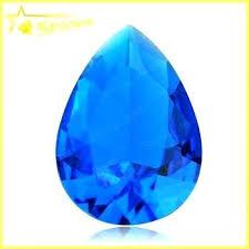 decorative glass gems decorative glass gems bulk factory supply colorful bulk glass gems sapphire glass stone decorative glass gems