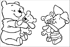 Baby Winnie The Pooh Coloring Pages Free Coloring Pages On