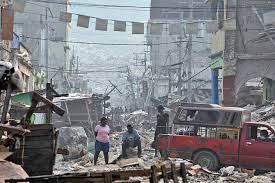 Conflicts: Haiti. Earthquake, 2010 ...