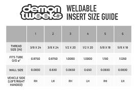 Buy Demon Tweeks Weldable Threaded Insert Demon Tweeks