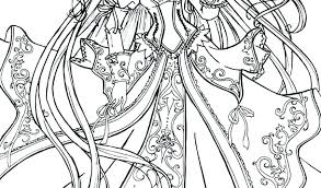 Cute Princess Coloring Pages Princesses For Baby Disney Colouring