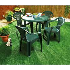 engaging plastic garden table 4 basic furniture and chairs asda outdoor uk living fabulous plastic garden table