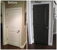 modern painted interior doors. Bedroom Doors Painting Best Design Dark White Interior And Black Interiors Also Door Paint Modern Painted N