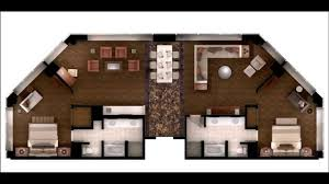 MGM Skyline Marquee Suite YouTube - Mgm signature 2 bedroom suite floor plan
