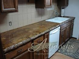 pour in place concrete countertops outstanding granite countertops