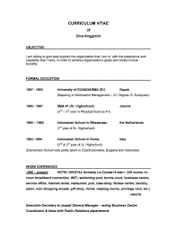 Good Objective Sentences For Resume What Is A Good Objective To Put On A Resume Staruaxyz 19