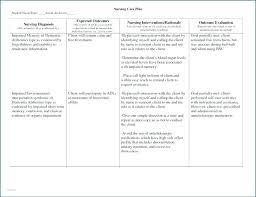 Blank Nursing Care Plan Template Blank Nursing Care Plan Template To