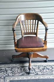 wooden swivel desk chair. Antique Oak Desk Chair Uk Wooden Swivel Wood Designed 2 Consign Within