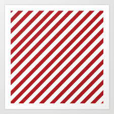 If you buy from a link, we may earn a commission. Candy Cane Christmas Illustration Art Print By Roots Branches Society6